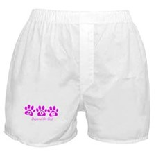 Pink DOG Boxer Shorts