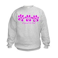 Pink DOG Sweatshirt