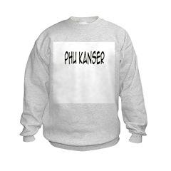 'Phu Kanser' Kids Sweatshirt