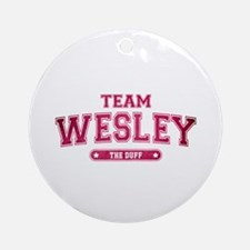 The Duff - Team Wesley Round Ornament