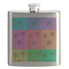 Palm Trees Flask