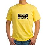 'Chemo Warrior' Yellow T-Shirt