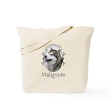 Life's Better Malamute Tote Bag