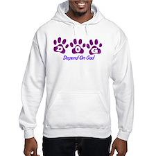 Purple DOG Hoodie