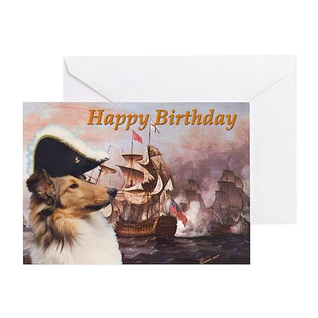 Sea Dog Birthday Card