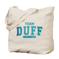Blue Team Duff Tote Bag