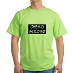 'Chemo Soldier' Green T-Shirt