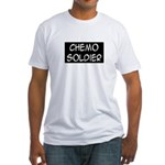 'Chemo Soldier' Fitted T-Shirt