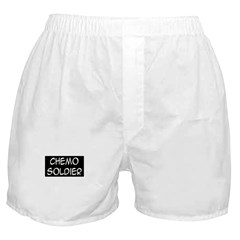 'Chemo Soldier' Boxer Shorts