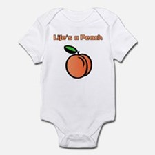 Life's A Peach Infant Bodysuit