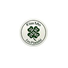 Pirish - Celebrate Pi Day & St. Patric Mini Button