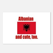Albanian & Cute Postcards (Package of 8)