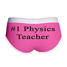 #1 Physics Teacher  Women's Boy Brief