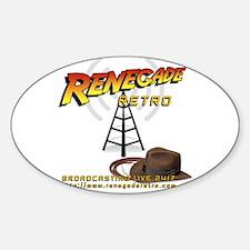 Renegade Retro Oval Decal