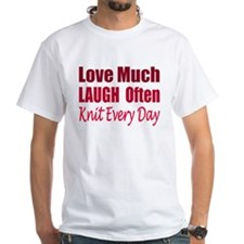 Love, Laugh Knit Every Day T-Shirt