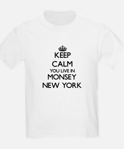 Keep calm you live in Monsey New York T-Shirt