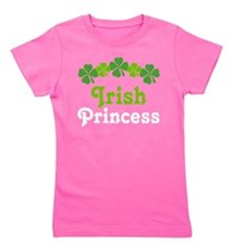Cute Kids st patricks Girl's Tee