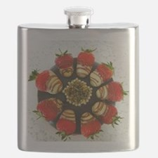 chocolate covered strawberries Flask