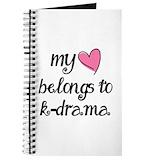 Korean drama Journals & Spiral Notebooks