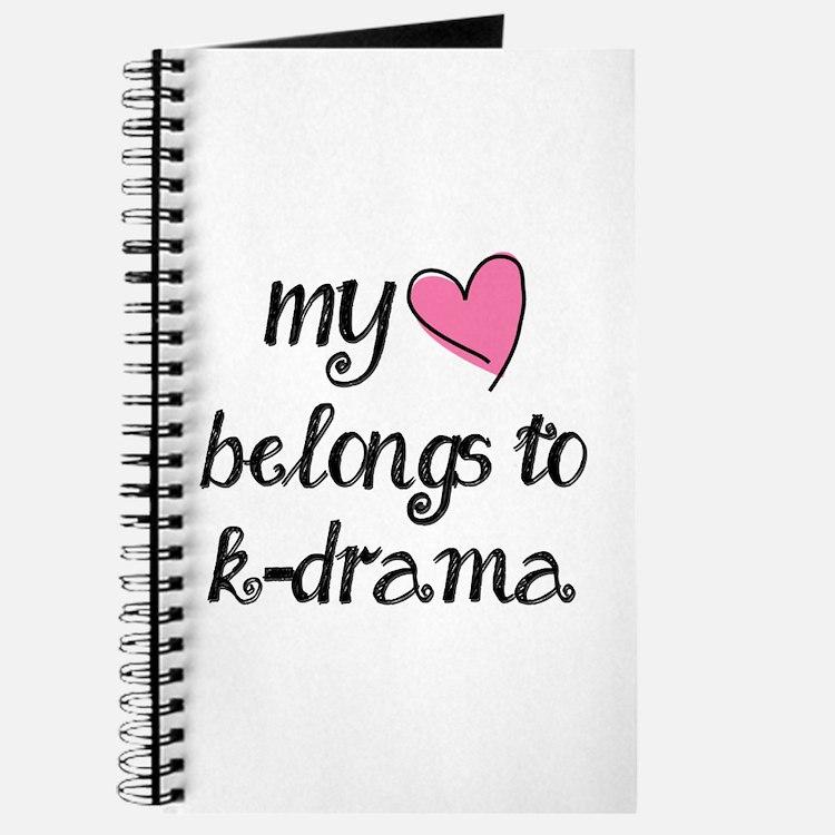 My Heart Belongs To K-Drama Journal