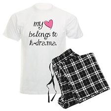 My Heart Belongs to K-Drama Pajamas