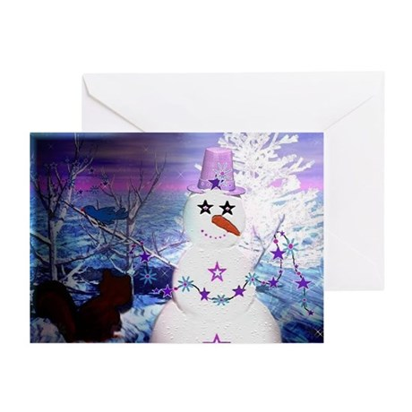 Snowman Holiday Greeting Cards (Pk of 20)
