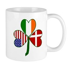 Danish Shamrock Mugs