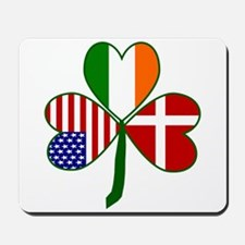 Danish Shamrock Mousepad