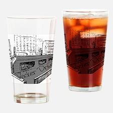 Wacker Drive Drinking Glass