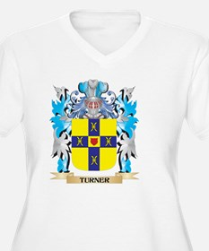Turner- Coat of Arms - Family Cr Plus Size T-Shirt