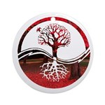 Trees of Scarlet Ornament (Round)