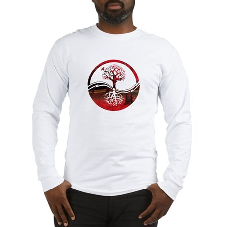 Trees of Scarlet Long Sleeve T-Shirt