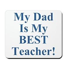 Twisted Imp Dad Is Best Teacher Mousepad