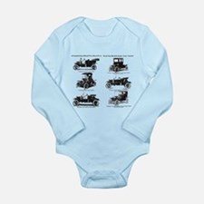 Funny Antique car Long Sleeve Infant Bodysuit