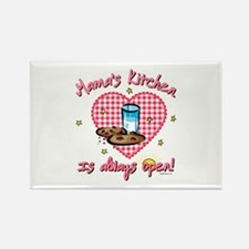 Mama's Kitchen Open Rectangle Magnet
