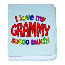 I love my GRAMMY soooo much!! baby blanket