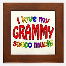 I love my GRAMMY soooo much!! Framed Tile
