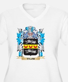 Tylor Coat of Arms - Family Cres Plus Size T-Shirt