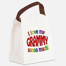 I love my GRAMMY soooo much!! Canvas Lunch Bag
