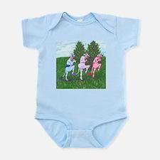 Cute Tip toe Infant Bodysuit