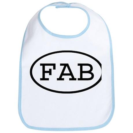 FAB Oval Bib