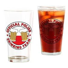 Official Polish Drinking Team Drinkware Drinking G