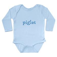 Piglet Long Sleeve Infant Onesie Body Suit