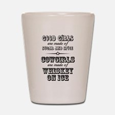Whiskey on Ice Shot Glass