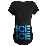 Ice ice Maternity T-shirts (Dark)