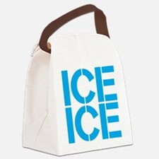 Ice Ice Canvas Lunch Bag