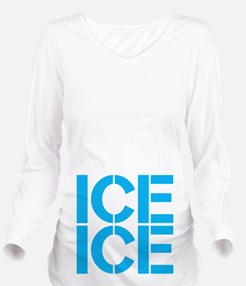 Ice Ice Long Sleeve Maternity T-Shirt