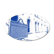 Old Rapides Bank Wall Decal
