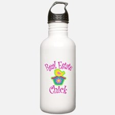 Real Estate Chick Water Bottle