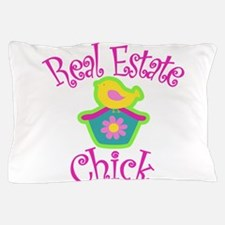Real Estate Chick Pillow Case